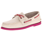 Sperry Top-Sider - A/O 2-Eye Neon (Oat/Magenta) - Footwear