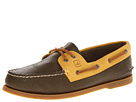 Sperry Top-Sider - A/O 2-Eye Relaxed (Olive/Honey) - Footwear