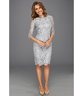 Eliza J - 3/4 Sleeve Lace Sheath Dress