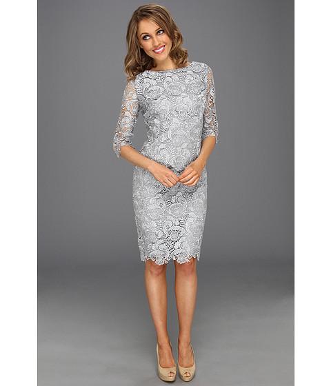 Best Online Shopping: Check Price Eliza J 3 4 Sleeve Lace Sheath ...