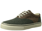 Sperry Top-Sider - Striper CVO Wool (Olive/Tan) - Footwear