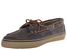 Sperry Top-Sider - Bahama 2-Eye Suede (Grey/Brown/White) - Footwear