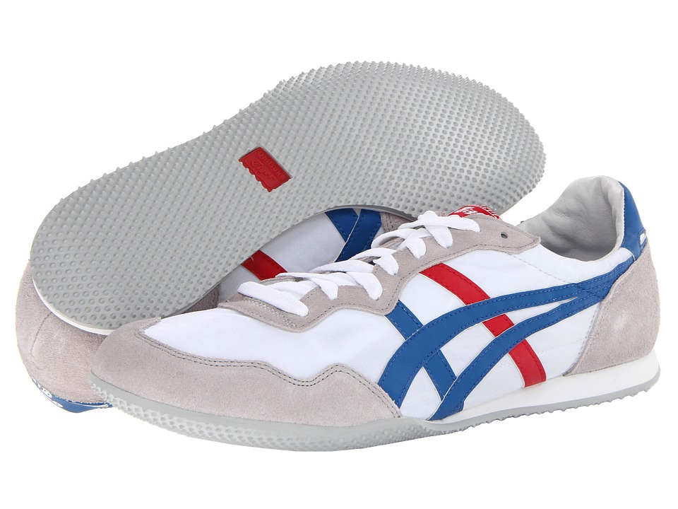 Onitsuka Tiger by Asics - Serranotm (White/Blue) Classic Shoes