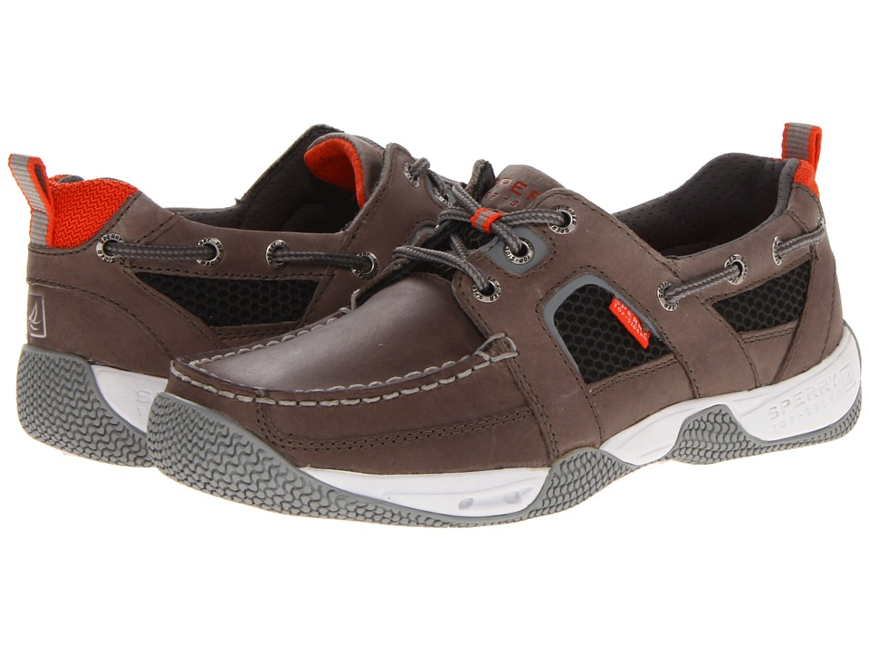 Sperry Top-Sider Sea Kite Sport Moc (Gray) Men's Lace up ...