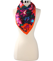 Kate Spade New York - Viva Colores Mexican Floral Silk Scarf