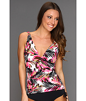 Caribbean Joe - Take Flight - Side Shirred Tankini