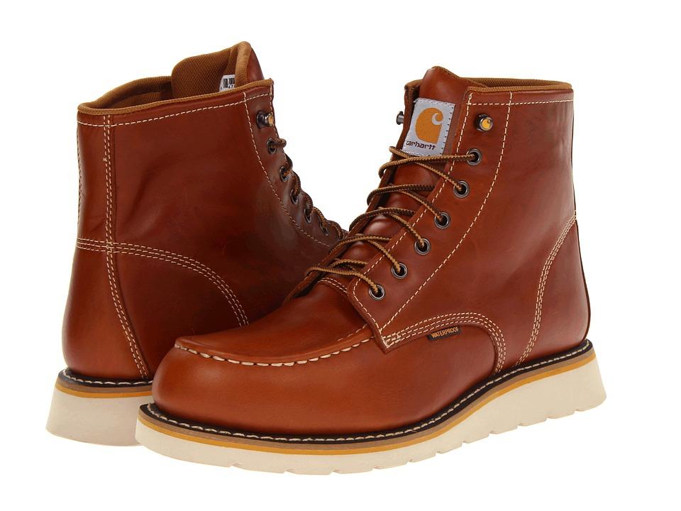 Carhartt - 6 Moc Toe Wedge Boot (Tan) Men