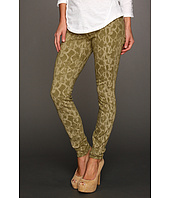 Rich & Skinny - Python Print Denim in Olive