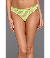 Betsey Johnson - Stocking Stripe Lo-Rise Thong