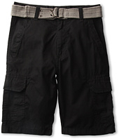 U.S. Polo Assn Kids - Belted Washed Cargo Short (Big Kids)