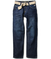U.S. Polo Assn Kids - Belted 5-Pocket Jean (Big Kids)