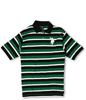 U.S. Polo Assn Kids - Striped Polo with Big Pony (Big Kids)