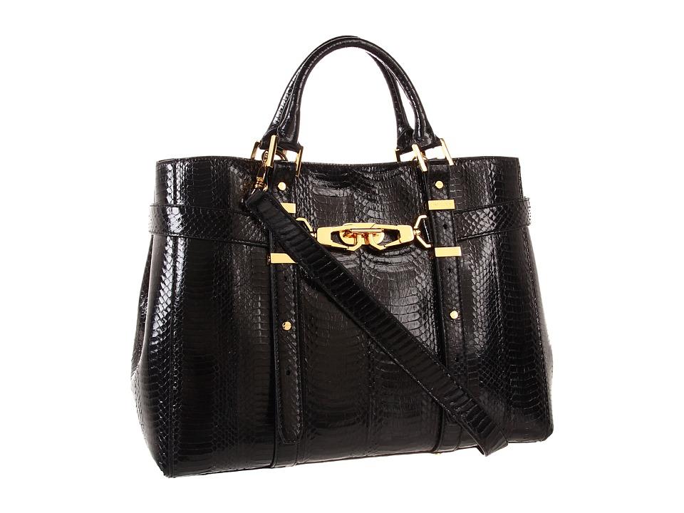 Rachel Zoe - Hutton Medium Tote (Black) Tote Handbags