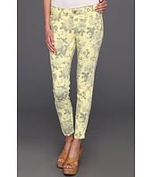 Mavi Jeans - Alexa Ankle Mid-Rise Super Skinny in Yellow Flower Print