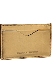 Alexander McQueen - Glow Web Calf Card Holder