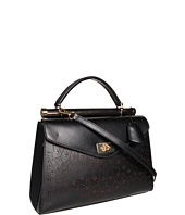 BCBGMAXAZRIA - Allie Lazer Cut Satchel