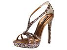 Roberto Cavalli - Glitter Sandal (Black/Gold) Sandal
