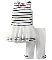Kate Mack - Seaside Petals Tunic and Capri Set (Little Kids)