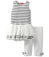 Kate Mack - Seaside Petals Tunic and Capri Set (Big Kids)