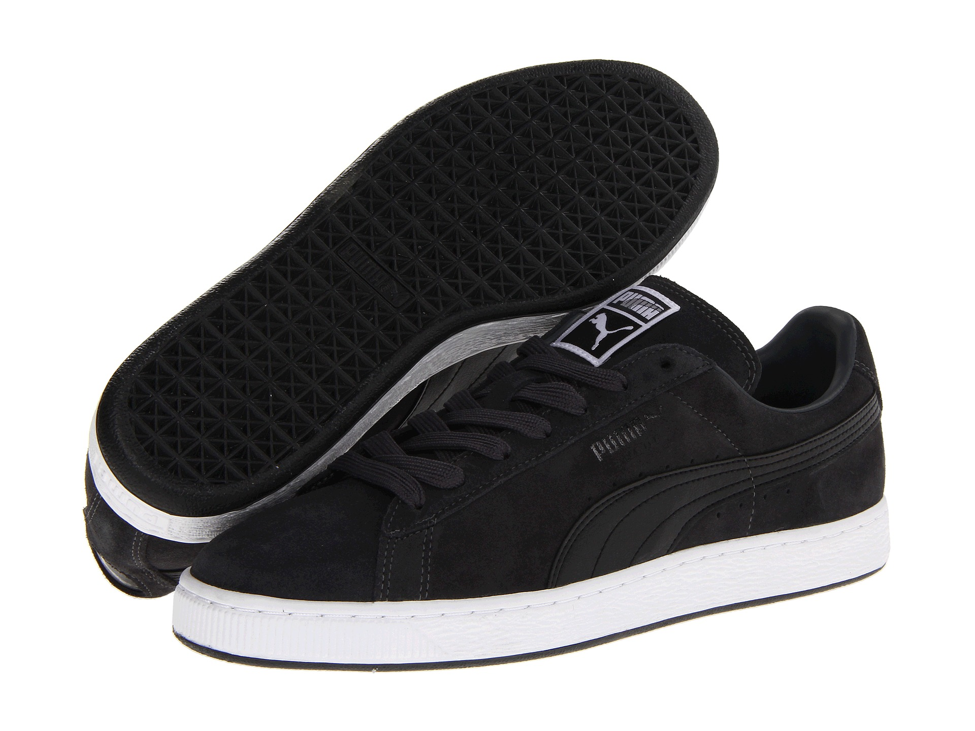 puma suede classic shoes shipped free at zappos. Black Bedroom Furniture Sets. Home Design Ideas