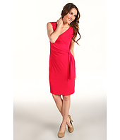 Muse - Surplice Side Draped Dress