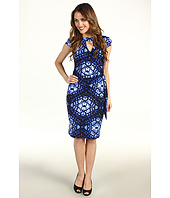 Muse - Surplice Cut Out Front Dress