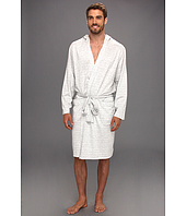 Tommy Bahama - Hooded Striped Knit Robe