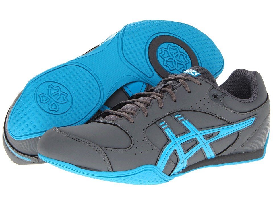 ASICS Rhythmic 2 SB (Carbon/Maui Blue/White) Women's Shoes