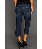 Jag Jeans Petite - Petite Fenmore Pull-On Crop in Blue Shadow