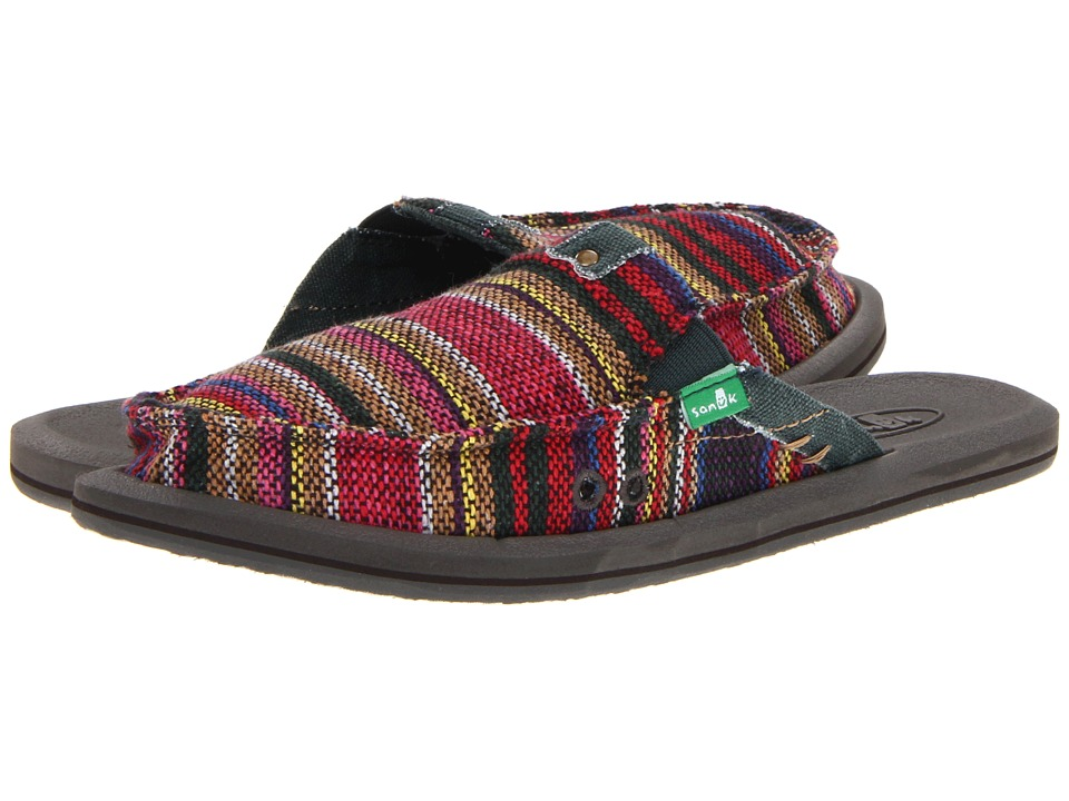 online and buy Sanuk Getaway Rainbow Women's Slip on Shoes online