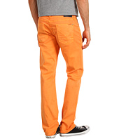 Hudson - Byron Five-Pocket Straight in Amber Orange