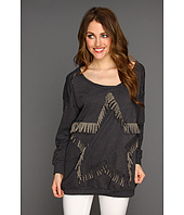 Type Z - Siliea Fringe Star Sweater