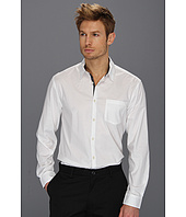 John Varvatos Star U.S.A. - Slim Fit Luxe Trim Shirt w/ Pocket
