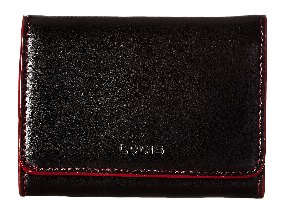 Lodis Accessories - Audrey Mallory French Purse (Black) Wallet Handbags