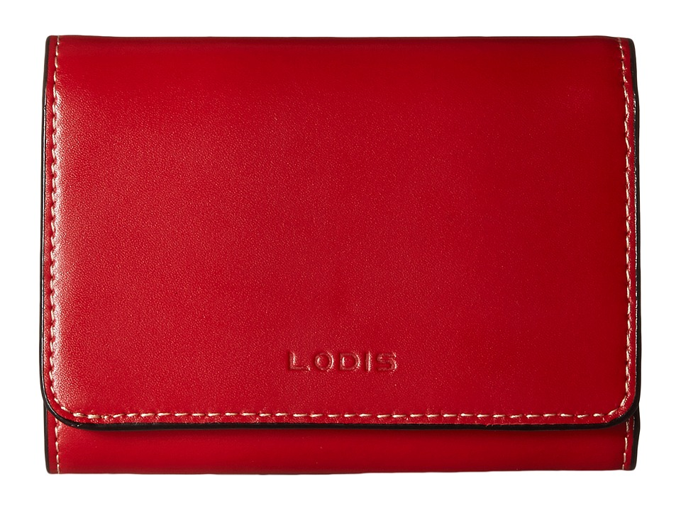 Lodis Accessories - Audrey Mallory French Purse (Red) Wallet Handbags
