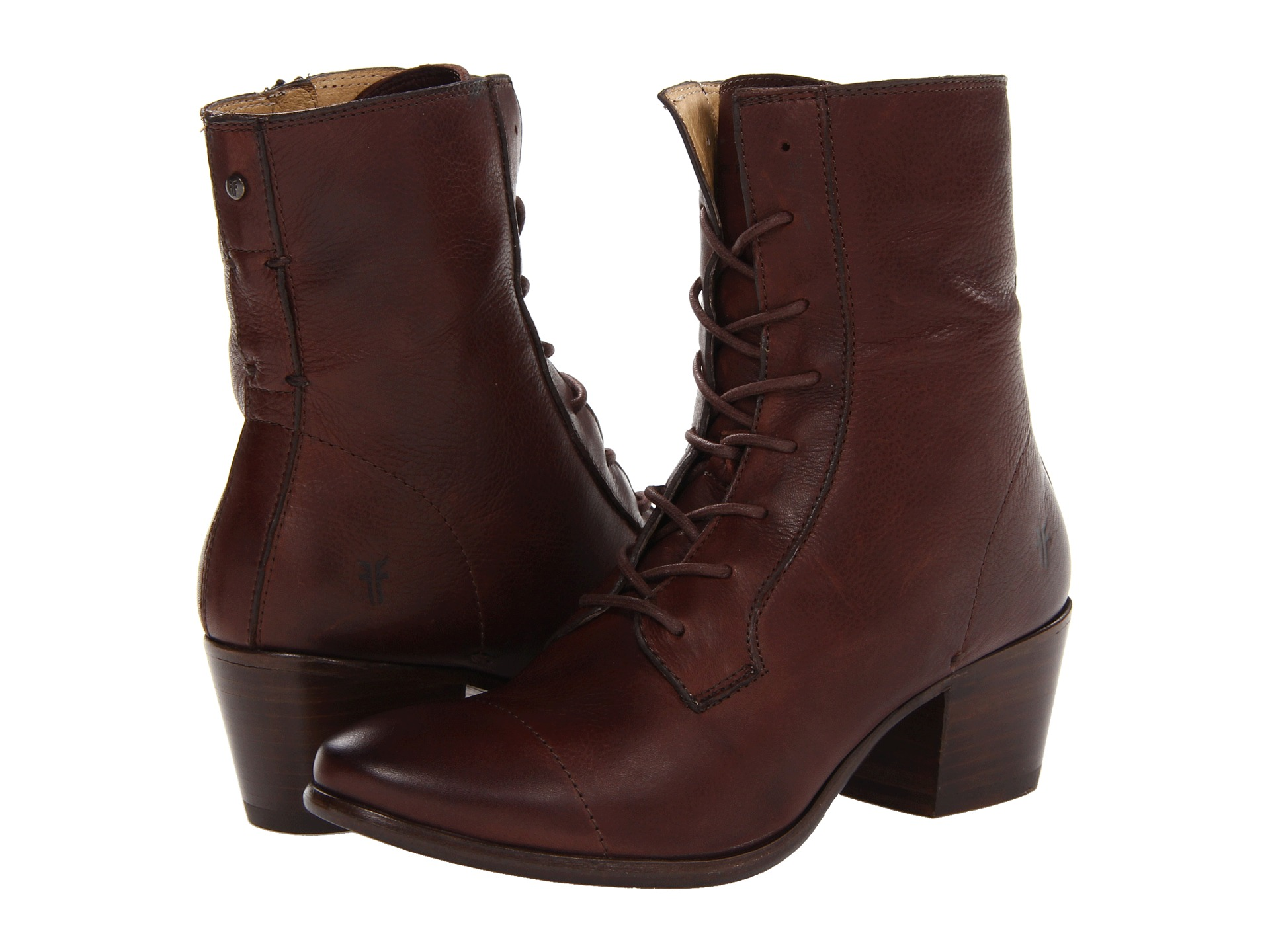 Innovative Fryedarkbrownfryewomenslaceupbootproduct12689208148152297