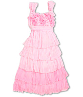 Biscotti - Blushing Rose Crinkle Chiffon Dress (Big Kids)
