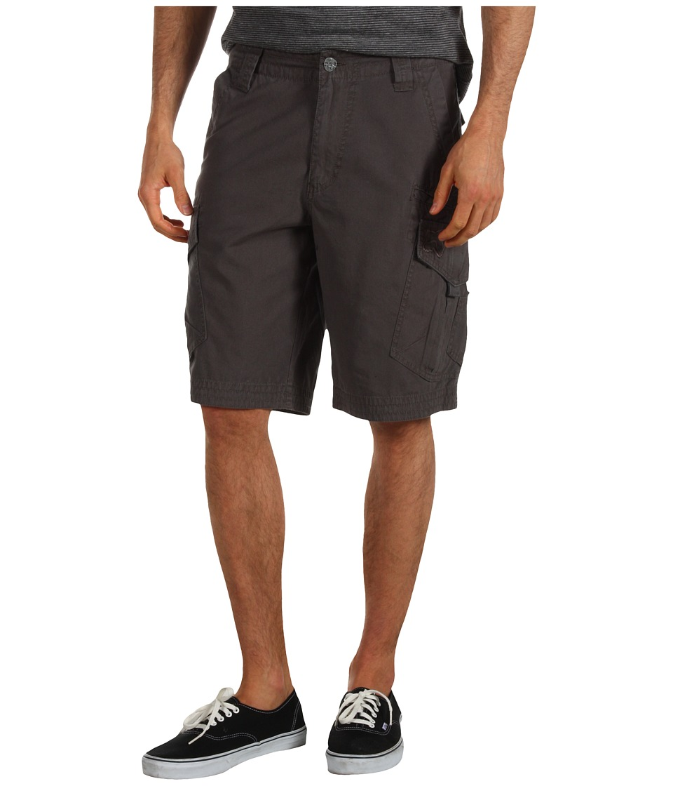 Fox Slambozo Solid Cargo Short Charcoal Mens Shorts