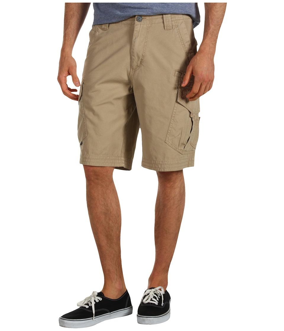 Fox Slambozo Solid Cargo Short Dark Khaki Mens Shorts