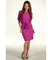 Suzi Chin for Maggy Boutique - Blouson w/ Self Sash Dress