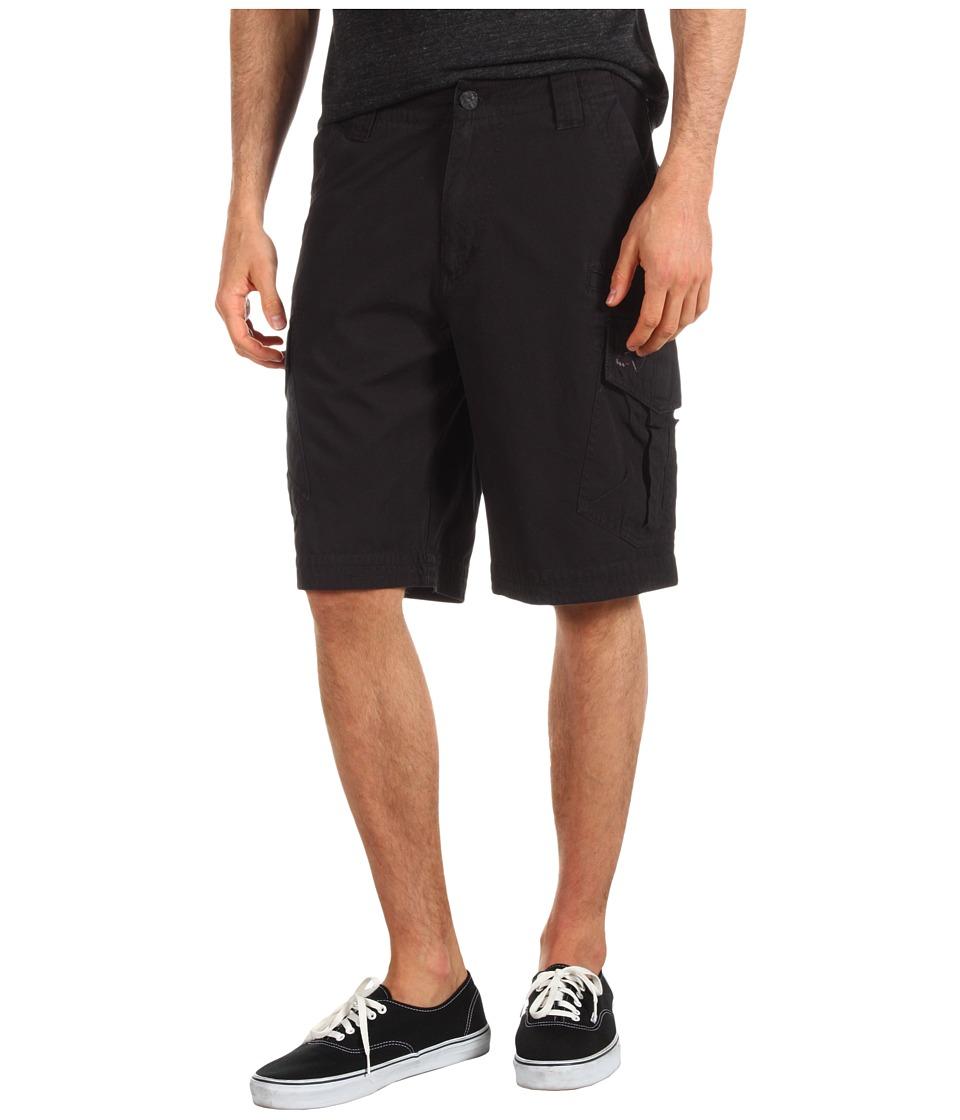 Fox Slambozo Solid Cargo Short Black Mens Shorts