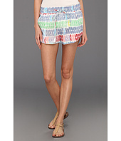 Mara Hoffman - Leis Cotton Voile Atheletic Short