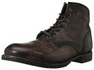 Frye - Logan Cap Toe (Dark Brown Polished Stonewash) - Footwear