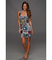 Mara Hoffman - Quilts Modal Lattice Back Mini Dress