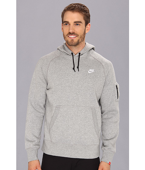 nike ace fleece pullover men 39 s hoodie long sweater jacket. Black Bedroom Furniture Sets. Home Design Ideas