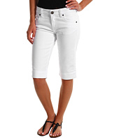 KUT from the Kloth - Wide Hem Bermuda in White