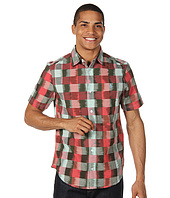 Original Penguin - S/S Buffalo Check Ikat Woven