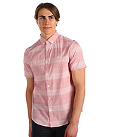 Original Penguin - Classic Fit S/S Horizontal Stripe Woven