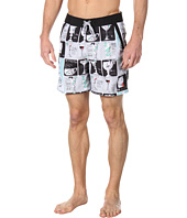 Original Penguin - Bar Book Print Volley Swim Short
