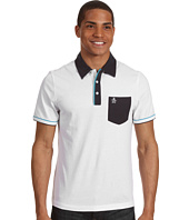 Original Penguin - S/S Colorblocked Mesh Polo